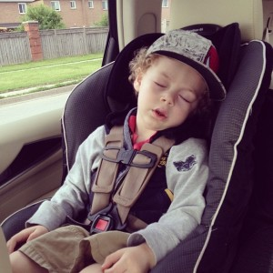 Narcolepsy | asleep in the car