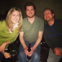 The three musketeers - Me, Lipkus and Dan