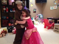 The monkey and his princess