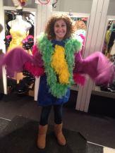 Julie (aka Chicken), the gifter of Socks the Monkey