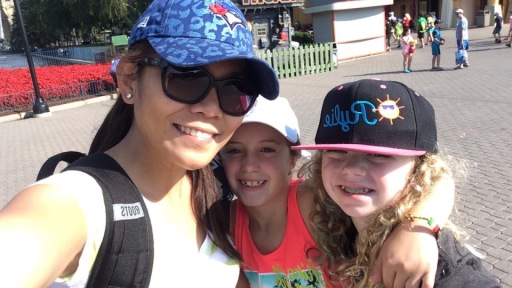 Canada's Wonderland with Ry and her friend Sammy K